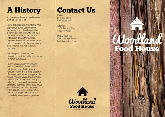 Brochure Design Respond to Query Outside