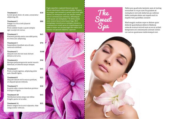 Brochure Design Point of Sale Inside