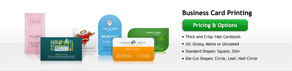 Business Card Printing in Los Angeles UPrinting