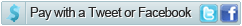 Pay with Tweet Button