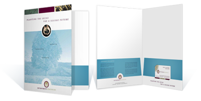 New vision printing coupled with a business card slot a pocket folder makes a good marketing tool using them almost guarantees that people wont be forgetting your brand any colourmoves Gallery